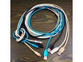 Fast micro-USB charging cable + nylon data   MJ9829-2S