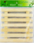 Bamboo placemat square casserole  MB-5849