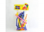 Balloons long 10 pcs. Modelling with pump MJ2207