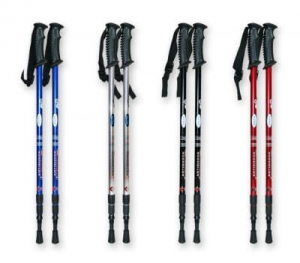 Nordic walking stick 135 cm compass 1 pc MJ1032-135cm